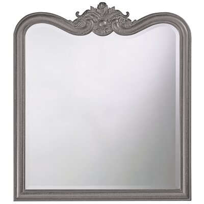 Rectangle Resin Vertical Mirror Finish: Charcoal Gray