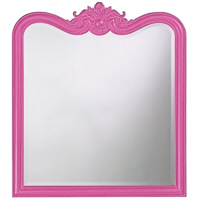 Rectangle Resin Vertical Mirror Finish: Hot Pink