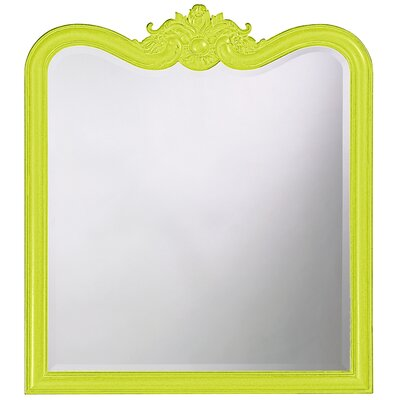 Rectangle Resin Vertical Mirror Finish: Moss Green