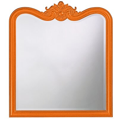 Rectangle Resin Vertical Mirror Finish: Orange