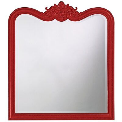 Rectangle Resin Vertical Mirror Finish: Merlot