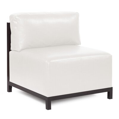 Woodsen Avanti slipper Chair Finish: Mahogany, Color: White