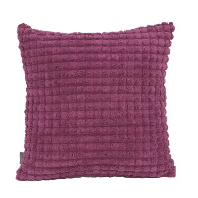 Tempo Throw Pillow Size: 16 x 16, Color: Magenta