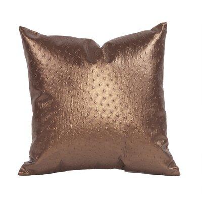 Boyle Throw Pillow Size: 20 H x 20 W, Color: Copper