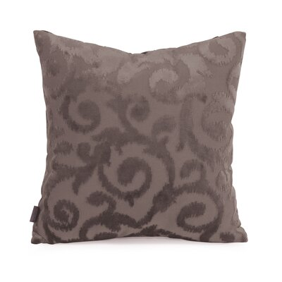 Blur Throw Pillow Size: 16 x 16, Color: Pewter