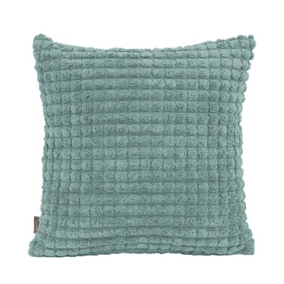 Tempo Throw Pillow Size: 16 x 16, Color: Teal
