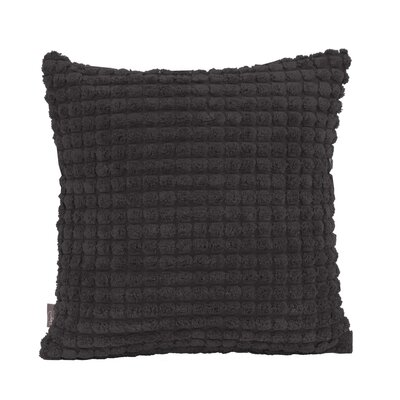 Tempo Throw Pillow Size: 16 x 16, Color: Black