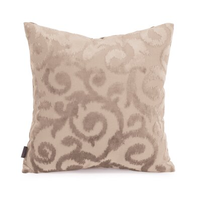 Blur Throw Pillow Size: 16 x 16, Color: Sand