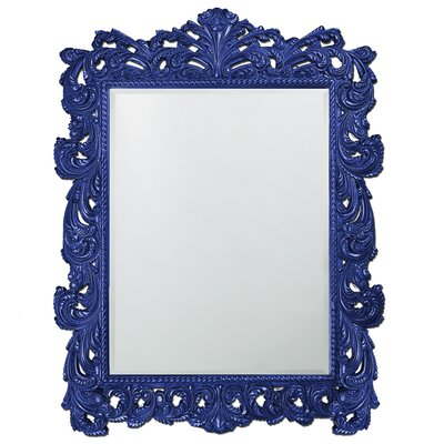Traditional Rectangle Resin Mirror Finish: Royal Blue