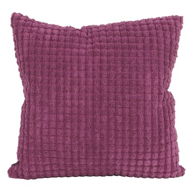 Tempo Throw Pillow Size: 20 x 20, Color: Magenta