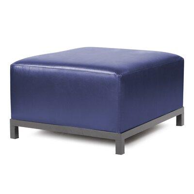 Woodsen Shimmer Ottoman Slipcover Upholstery: Sapphire