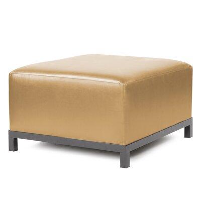 Woodsen Shimmer Ottoman Slipcover Upholstery: Gold