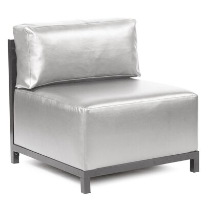 Woodsen Shimmer Chair Slipcover Upholstery: Mercury