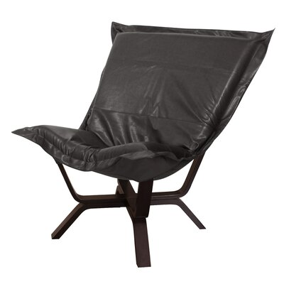 Baitz Avanti Puff Chair Upholstery: Black