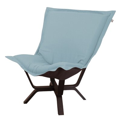 Baitz Sterling Puff Chair Upholstery: Breeze
