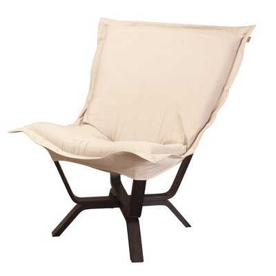 Baitz Sterling Puff Chair Color: Sand