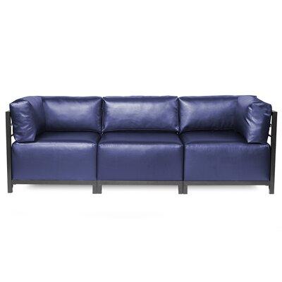 Woodsen Shimmer Sectional Frame Finish: Titanium, Upholstery: Sapphire