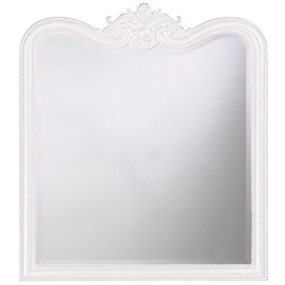 Rectangle Resin Vertical Mirror Finish: White