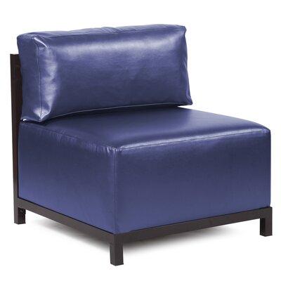Woodsen Shimmer Chair Frame Finish: Titanium, Upholstery: Sapphire