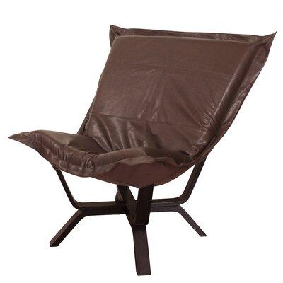 Baitz Avanti Puff Chair Upholstery: Pecan
