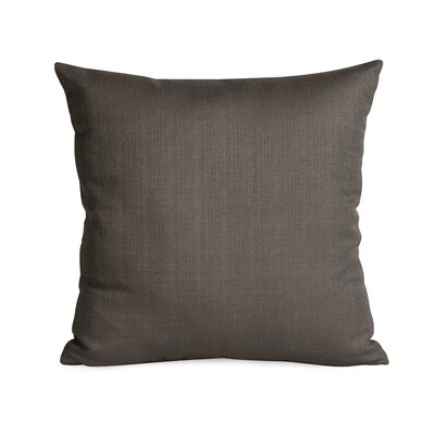 Frye Throw Pillow Color: Charcoal, Size: 16 H x 16 W