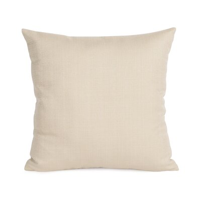Frye Throw Pillow Size: 16 H x 16 W, Color: Sand