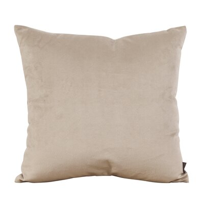 Abshire Throw Pillow Size: 16 H x 16 W x 8 D, Color: Bella Sand