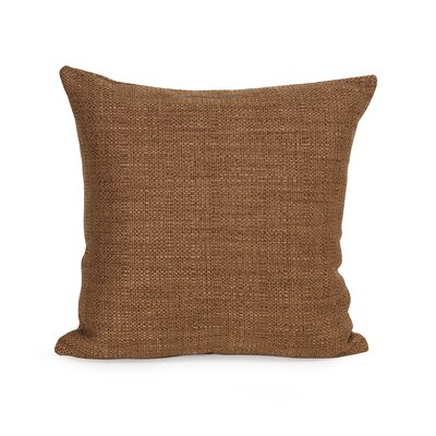 Richmond Throw Pillow Size: 20 H x 20 W x 4 D, Color: Coral