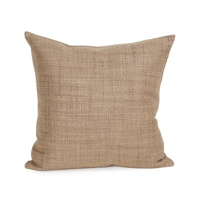 Mulligan Throw Pillow Size: 20 H x 20 W x 4 D, Color: Stone