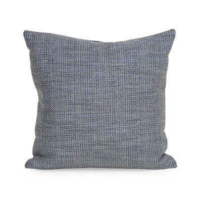 Richmond Throw Pillow Size: 20 H x 20 W x 4 D, Color: Sapphire
