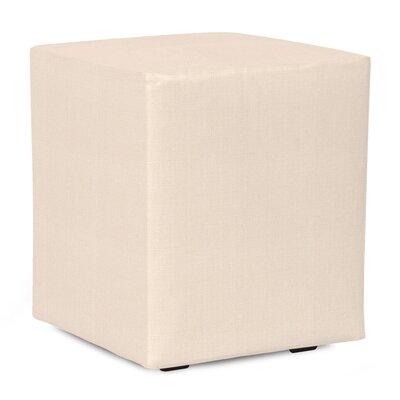 Fenham Sterling Cube Ottoman Upholstery: Sand