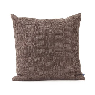 Mulligan Throw Pillow Size: 20 H x 20 W x 4 D, Color: Slate