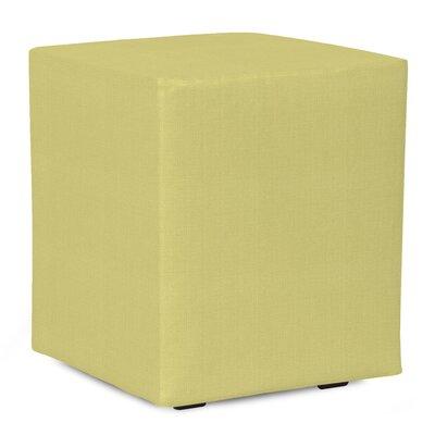 Fenham Sterling Cube Ottoman Upholstery: Willow