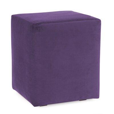 Josie Cube Ottoman Upholstery: Bella Eggplant