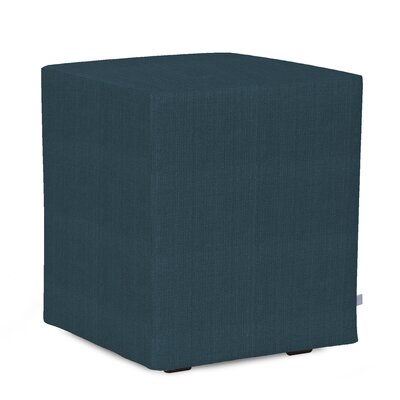 Josie Cube Ottoman Upholstery: Sterling Indigo