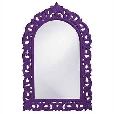 Arch/Crowned top Glossy Lacquer Mirror Finish: Royal Purple