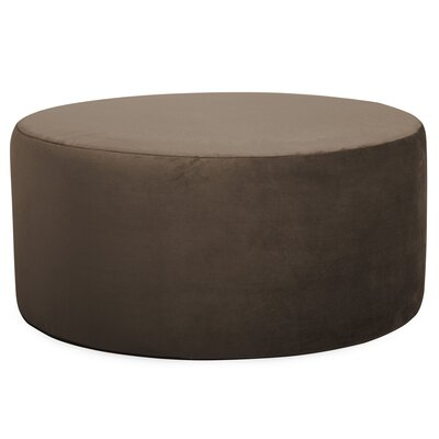 Josie Pouf Upholstery: Bella Chocolate