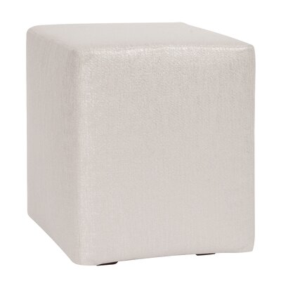 Josie Cube Ottoman Upholstery: Glam Sand