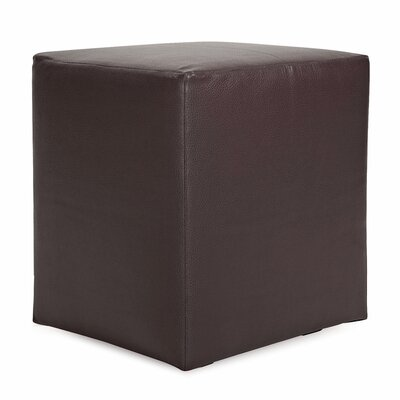 St James Cube Ottoman Upholstery: Pecan