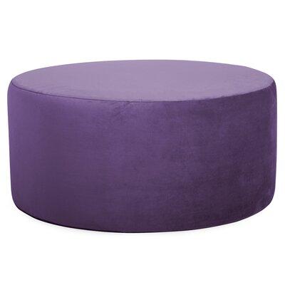 Josie Round Ottoman Upholstery: Bella Eggplant