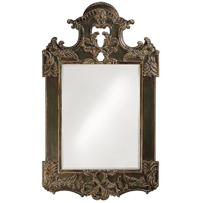 Rectangle Antique Black Mirror