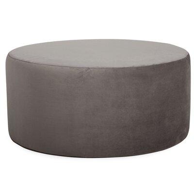 Josie Round Ottoman Upholstery: Bella Pewter