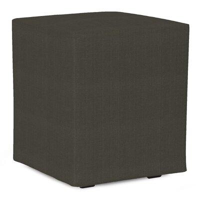 Fenham Sterling Cube Ottoman Upholstery: Charcoal
