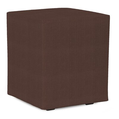 Fenham Sterling Cube Ottoman Upholstery: Chocolate