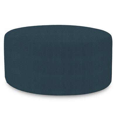 Josie Round Ottoman Upholstery: Sterling Indigo