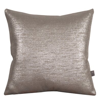 Alas Throw Pillow Size: 20 H x 20 W x 4 D, Color: Pewter