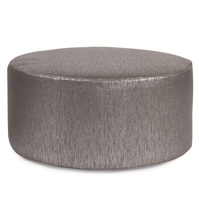 Josie Pouf Upholstery: Glam Zinc