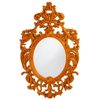 Oval Resin Vertical Mirror Finish: Orange