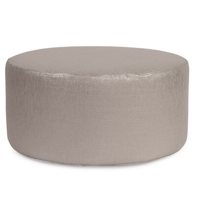 Josie Pouf Upholstery: Glam Pewter