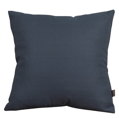 Alyssia Throw Pillow Size: 16 H x 16 W x 4 D, Color: Indigo